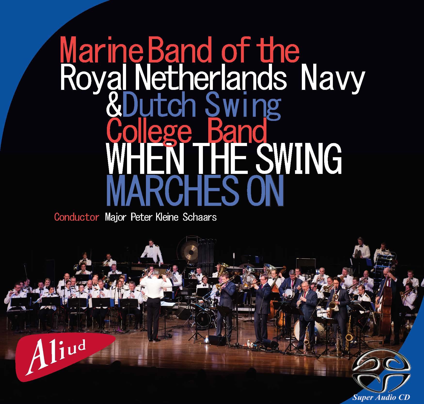 SACD cover Mariniers Kapel – Dutch Swing College Band SACD Booklet